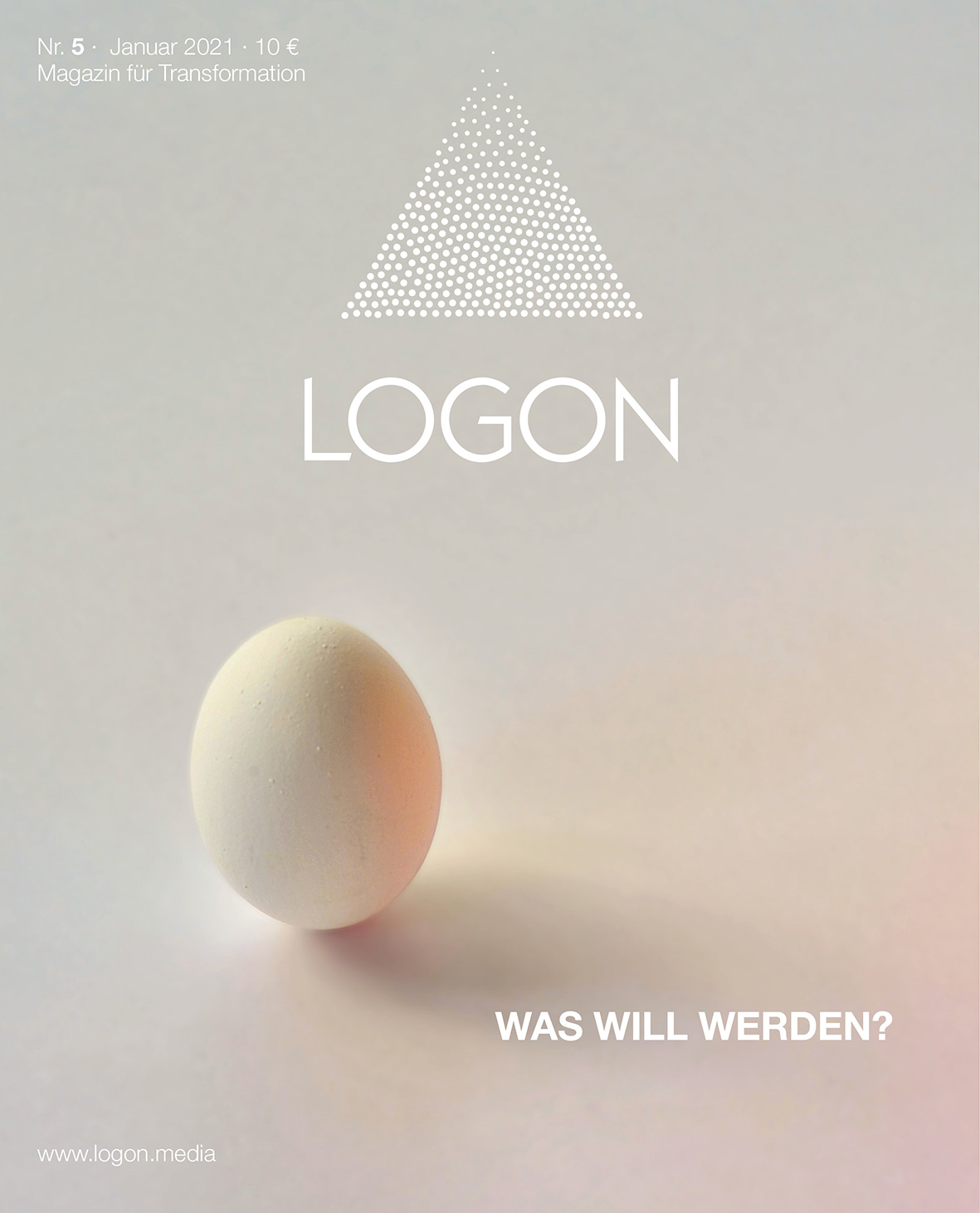 Buchcover: LOGON – Magazin für Transformation Nr.5